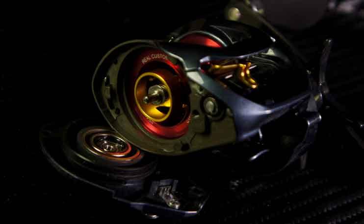 ベイトリール ブレーキセッティング イメージ