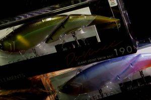 「ダヴィンチ190」話題沸騰中のエレメンツ第一弾のルアーがついに来た!このビッグベイト綺麗すぎる!