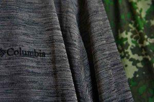 【ポーラー パイオニアフルジップジャケット】コロンビアのウエアが日焼け対策に寒さ予防にと今時期にちょうど良い!